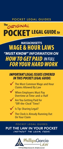 The ORIGINAL Pocket Legal Guide to Massachusetts Wage & Hour Laws